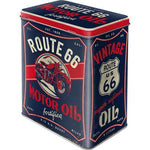 Route 66 Large Tin