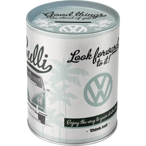 VW Volkswagen Bulli Camper Van Money Tin