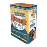 Every Bite You Take Dog Clip Top Tin