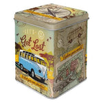 VW Volkswagen Get Lost Tea Tin