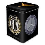 Mercedes Logo Evolution Tin