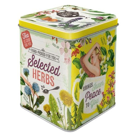 Selected Herbs Tin