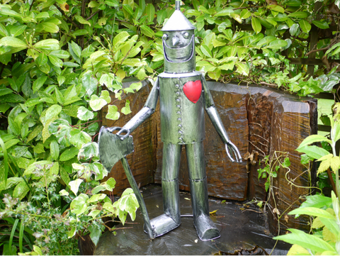 Tin Man Medium statue