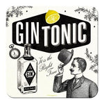 Gin and Tonic Metal Coaster