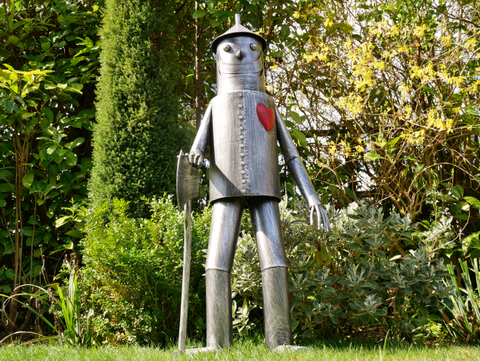 Tin Man Large Statue