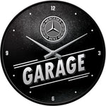 Mercedes Benz Garage Clock