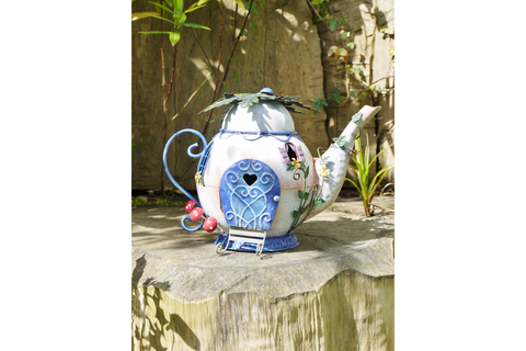 Fairy Garden Tea Pot