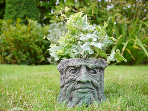 Mini Tree Stump Planter