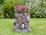 Fairy Garden Tree Stump Planter