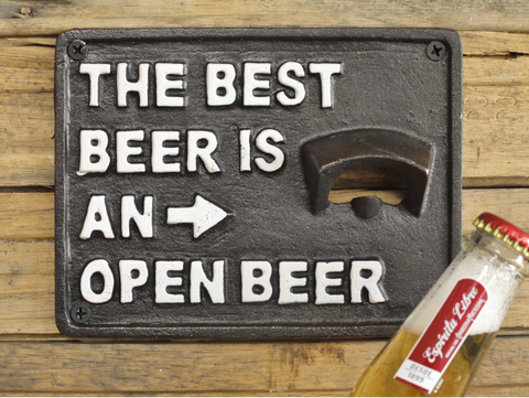The Best Beer is an Open Beer