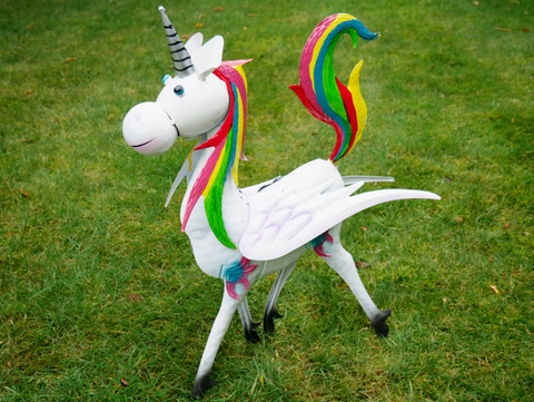 Metal Unicorn decoration