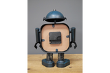 Blue Robot Clock