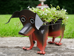 Sausage Dog Double Planter