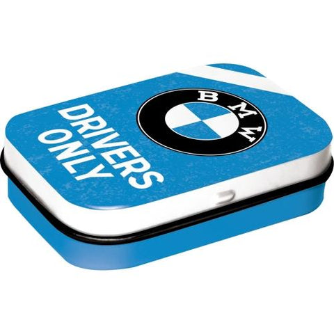 BMW Drivers Only Mint Tin