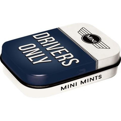 Mini Drivers Mint Tin