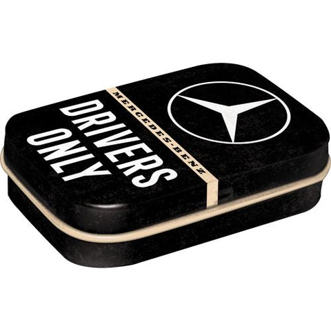 Mercedes Benz Mint Tin