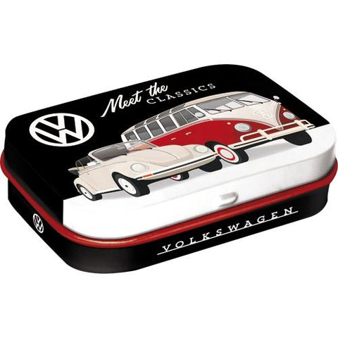 Volkwagen VW Meet The Classics Mint Tin