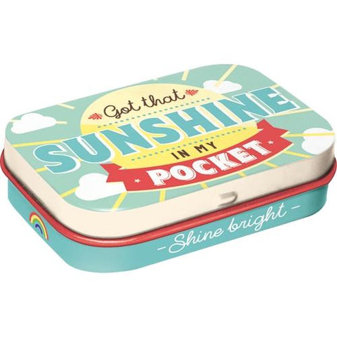 Sunshine In My Pocket Mint Tin