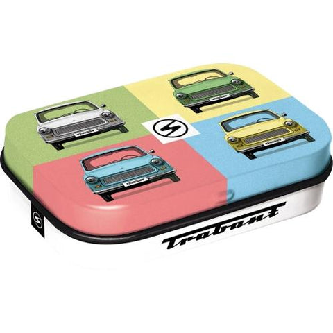 Trabant Pop Art Mint Tin