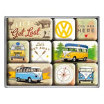 VW Volkswagen Let's Get Lost Magnet Set