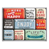 Enjoy Life Magnet Set