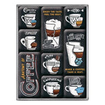 Anatomy of Coffee Magnet Set