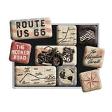 Route 66 Magnet Set