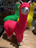 Neon Llama - Custom painted and waterproofed