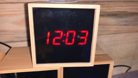 Digital Cube Clock
