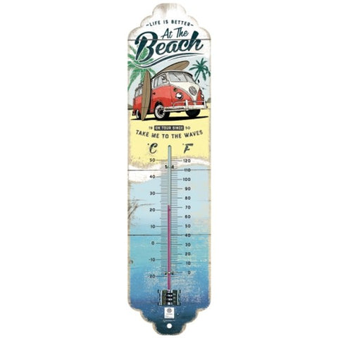 VW At The Beach Thermometer