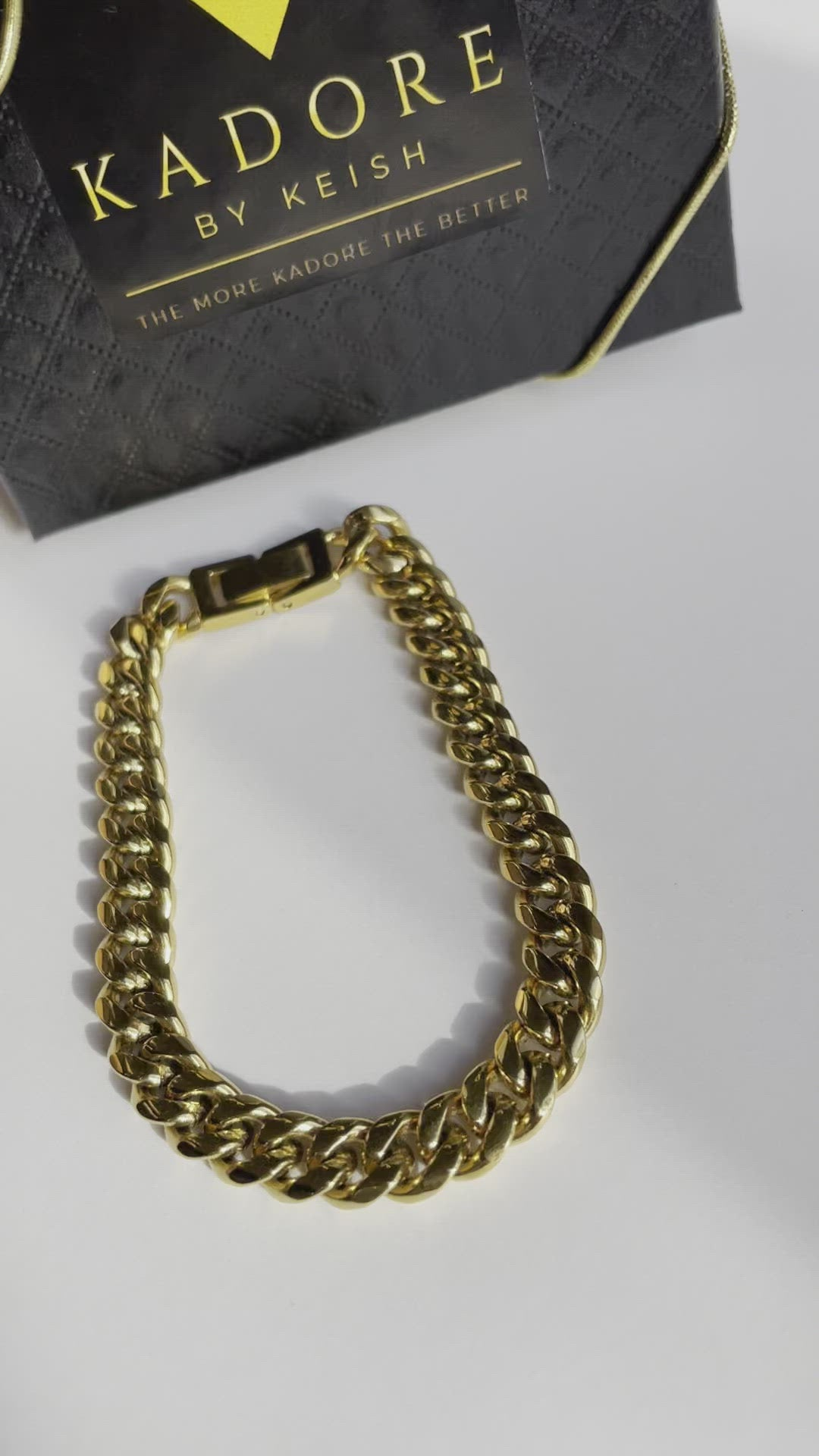 Man Cuban Chain Bracelet