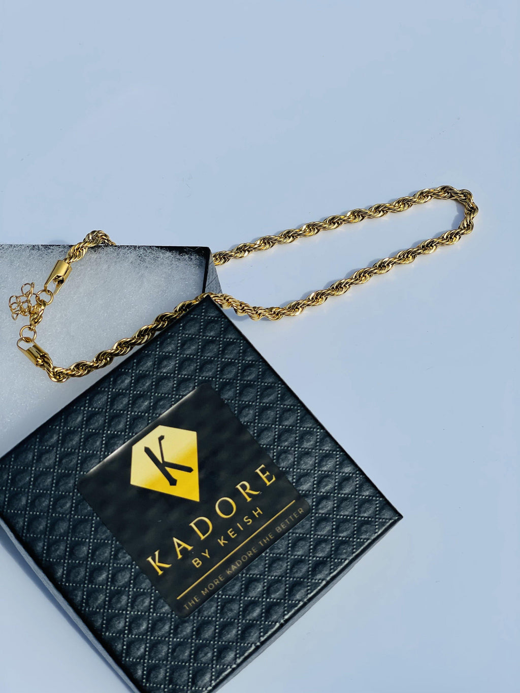 Kelsey Rope Chain Necklace - Kadore by Keish