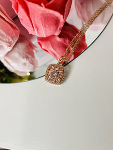Pink Morganite Kisses Necklace - Kadore by Keish