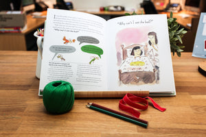 Why do I have to eat my green? A book about well-being for kids