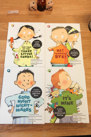 Behaviour Series Pack of 4