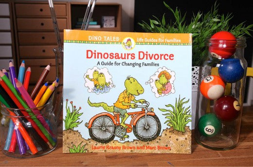 Dinosaurs divorce a guide to changing families and separation and divorce quirky kid shoppe - Divorce shoppe ...