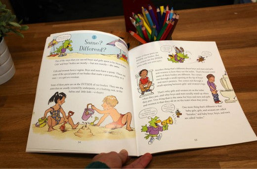 Sex Education Books For Young Children