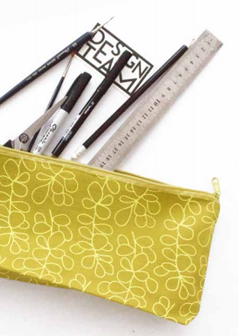 Design Team Ruler Pencil Bag