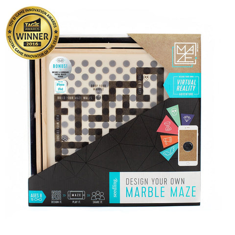 Virtual Reality Design Your Own Marble Maze