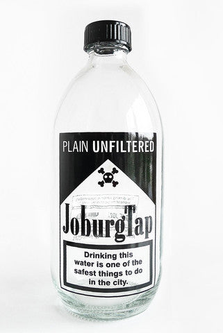 Joburg Tap Water Bottle 500ml