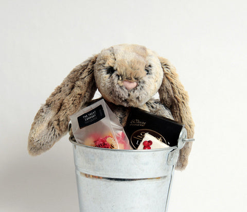 Bunny in a Bucket Cottontail