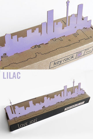 Jozi Key Rack Lilac
