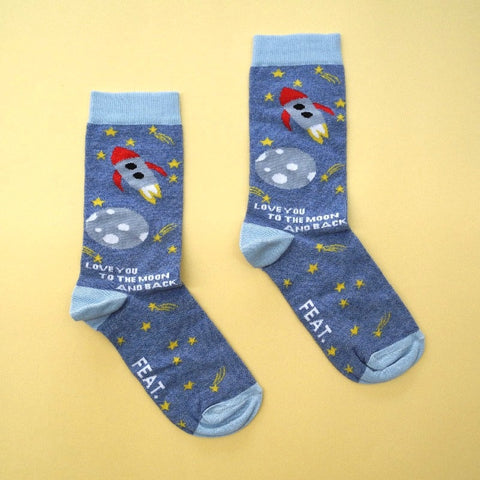 "Feat Socks "" To the Moon"""