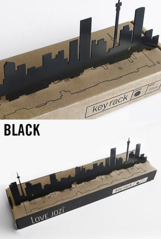 Jozi Key Rack Black