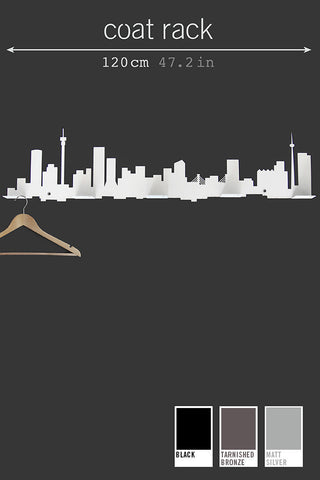 Jozi Skyline Coat Rack