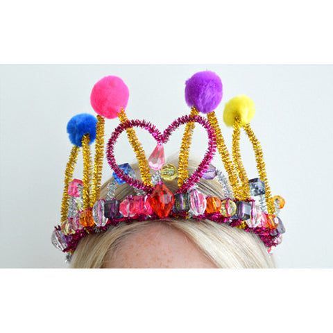 Create Your Own Dazzling Tiara