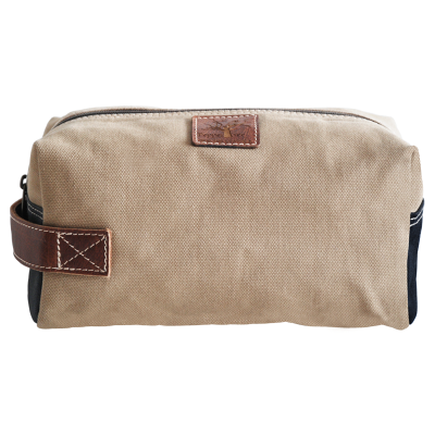 Peppertree Men's Canvas Toiletry Bag