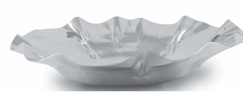 Stainless Steel  Wavy Bowl