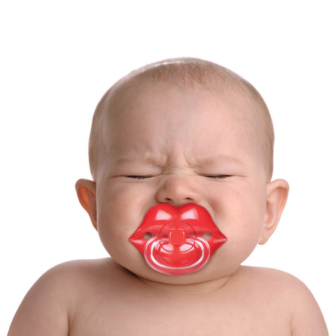 Baby Pacifier Lips Design