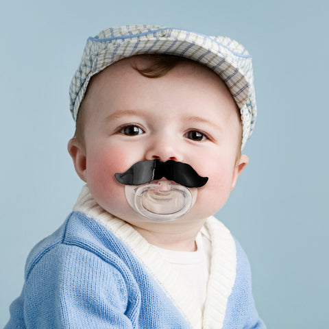 Baby Pacifier Moustache